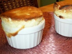 Sour Apple Souffles
