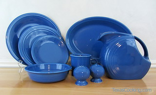 In the Lapis of Luxury & Lapis Blue Fiestaware Dinnerware from Homer Laughlin