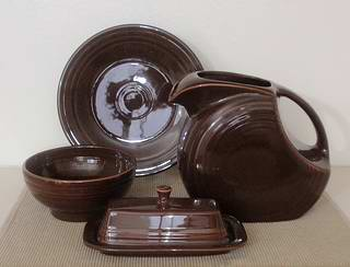 Chocolate Fiestaware snapshot. \  & Chocolate Fiestaware Dinnerware from Homer Laughlin