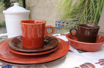 Paprika Fiestaware snapshot & Paprika Fiestaware Dinnerware from Homer Laughlin