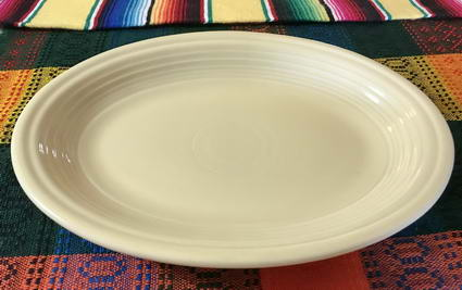 Fiesta Medium Oval Platter 11 5/8""