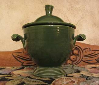 Vintage Medium Green Fiestaware