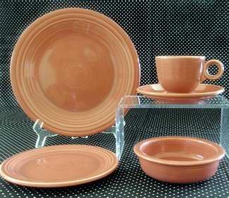 Vintage Rose Fiesta & Vintage Rose Fiesta Dinnerware from Homer Laughlin
