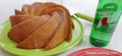 Classic 7 UP Pound Cake