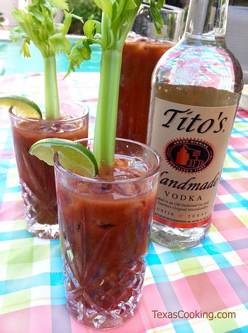 Steve's Bloody Mary with Tito's Vodka