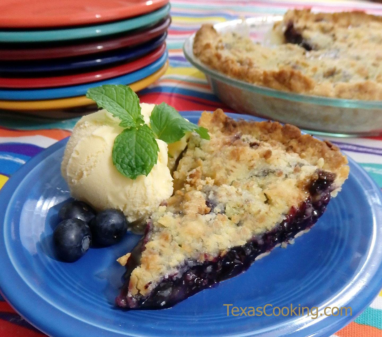 blueberry crumble pie recipe