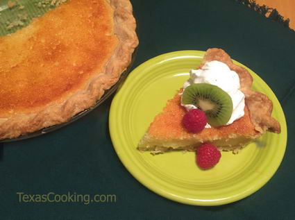 Caroline's Buttermilk Pie