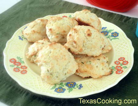 Cheese Chive Biscuits