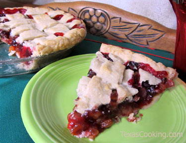 Holiday Cranberry Pie