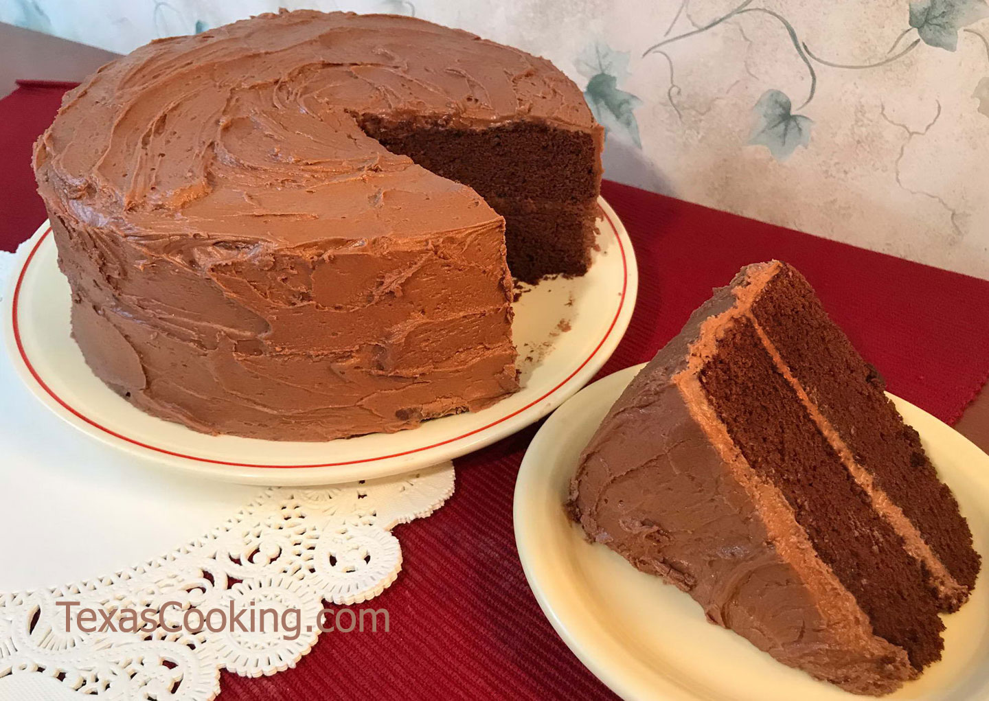Old Fashioned Red Devils Food Cake Recipe