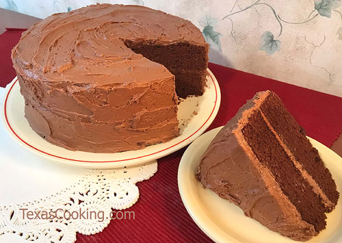 Coffee Devil's Food Cake