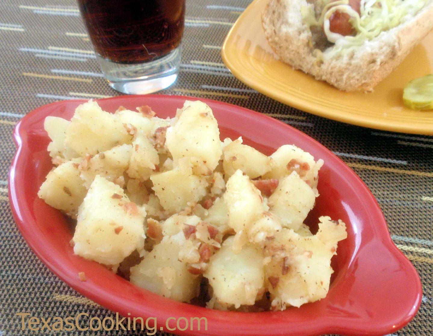 Texas German Potato Salad Recipe