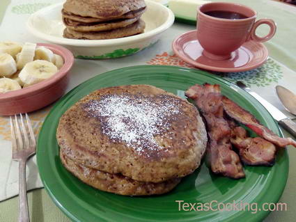 Magnolia Cafe Gingerbread Pancakes