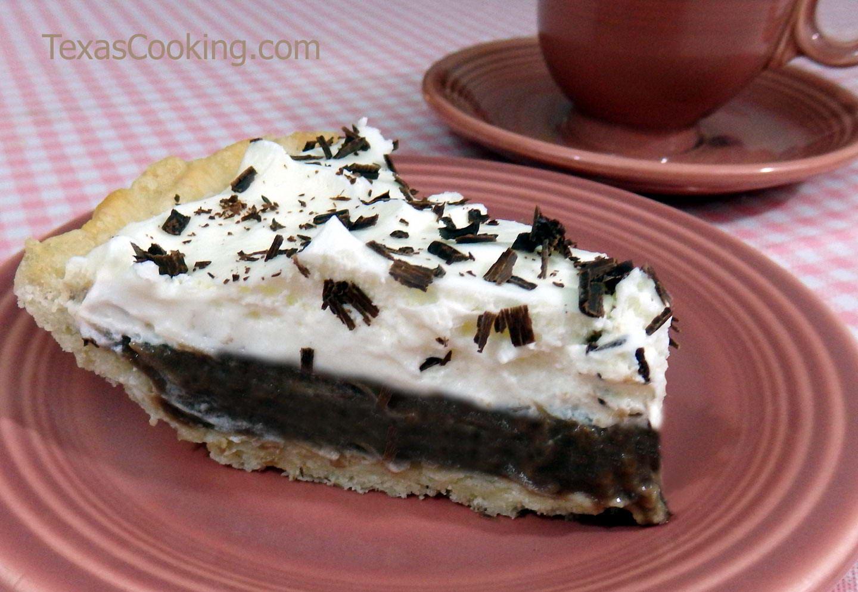 Chocolate Icebox Pie Recipe