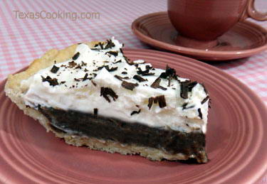 Luby's Chocolate Icebox Pie