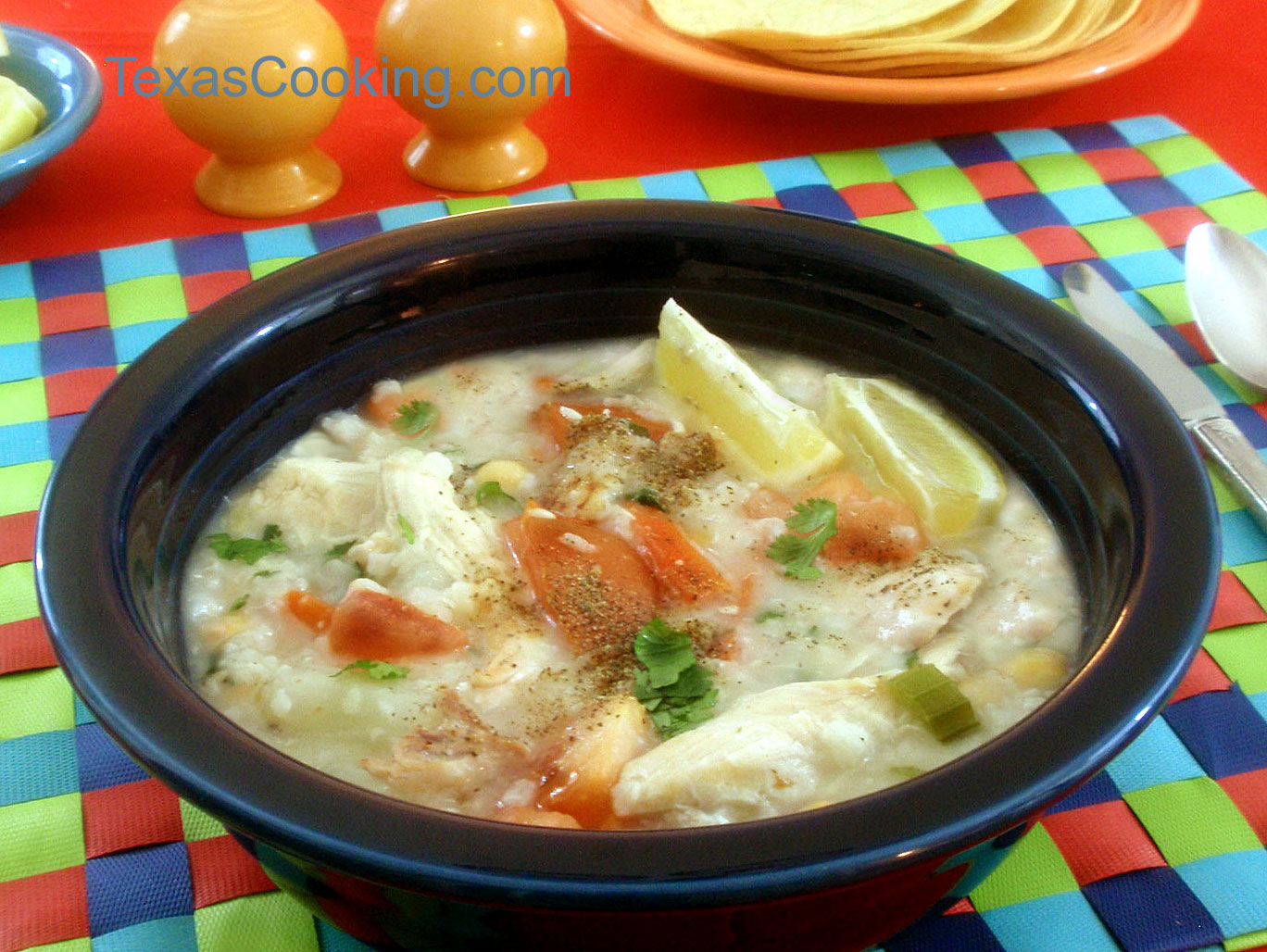 Mexican Chicken Rice Soup Recipe