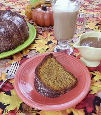 Savory Pumpkin Cake