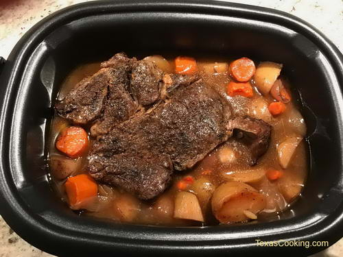 Pot Roast in the Slow Cooker