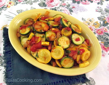 Summer Squash Stir-fry