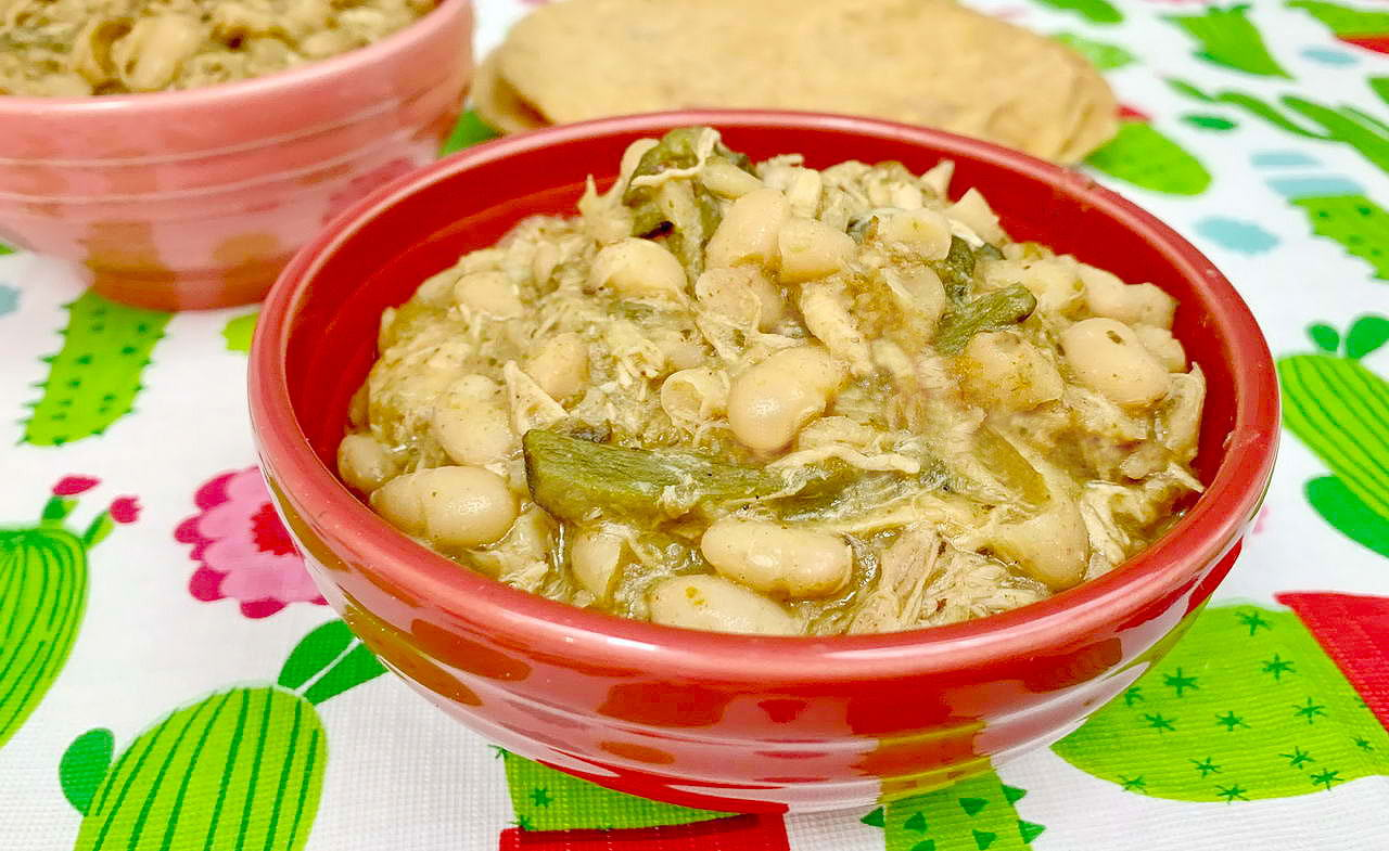 White Chicken Poblano Chili Recipe