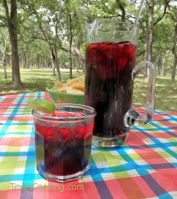 Agua De Jamaica Recipe Hibiscus Iced Tea Recipe