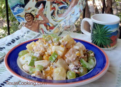 Sweet Chicken Salad Recipe With Grapes