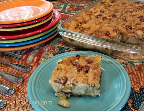 Mexican Bread Pudding (Capirotada)