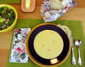 Cheddar Cheese Soup