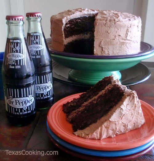 Dr Pepper Chocolate Cake