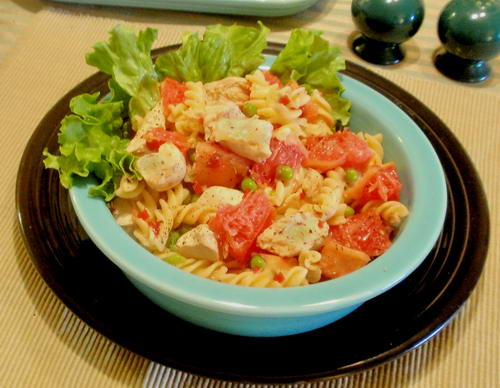 Ruby Red Chicken Salad