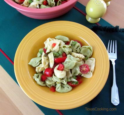Lemon Tortellini Salad