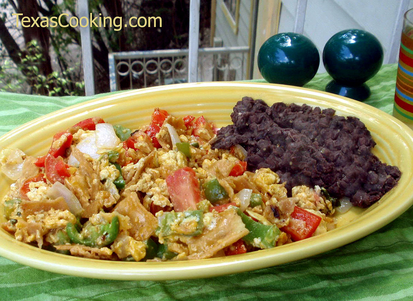 Migas Recipe with Fresh Tortillas