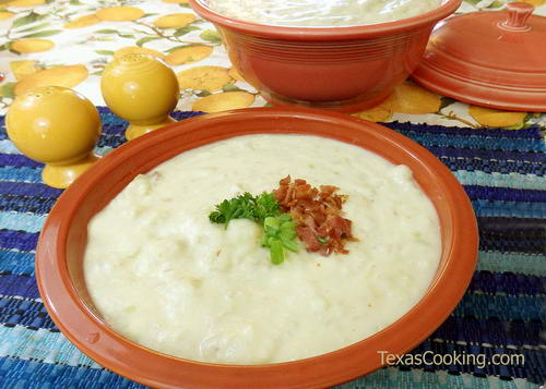 Simply Wonderful Potato Soup