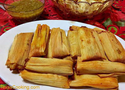 Beef Tamales for Christmas