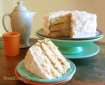 Buttermilk Yellow Cake