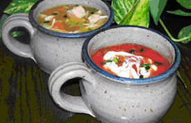 Mugs of Soup