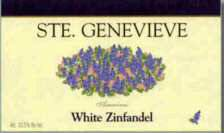 White Zinfandel label