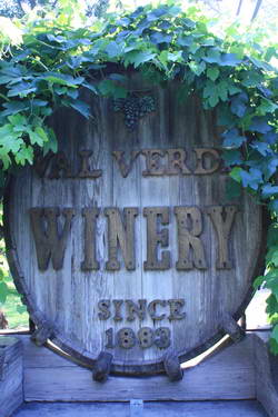 Val Verde Winery Cask
